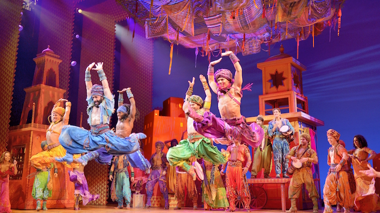 Aladdin the Musical. Photo: supplied