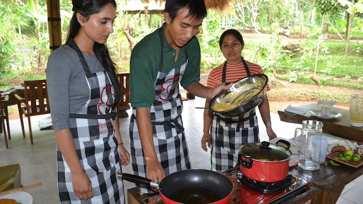Balinese Farm Cooking School. Photo: supplied