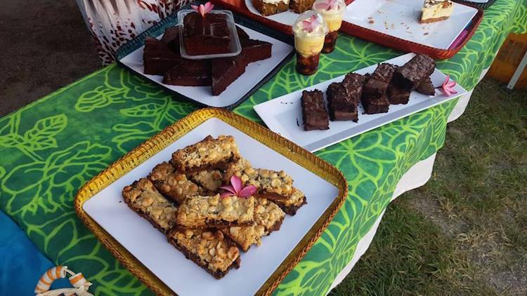 Dessert treats at the Paradise Pit Stop stall at Muri Night Market. Photo: Raylene Sue