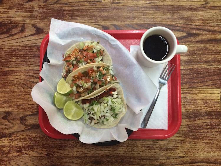 Tacos at Tanias 33, Tucson. Photo: Sarah Illingworth