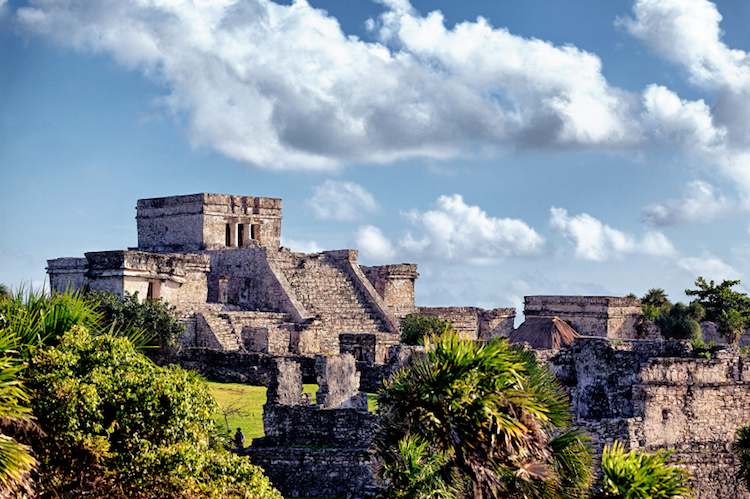 The Mayan ruins at Tulum. Photo: iStock