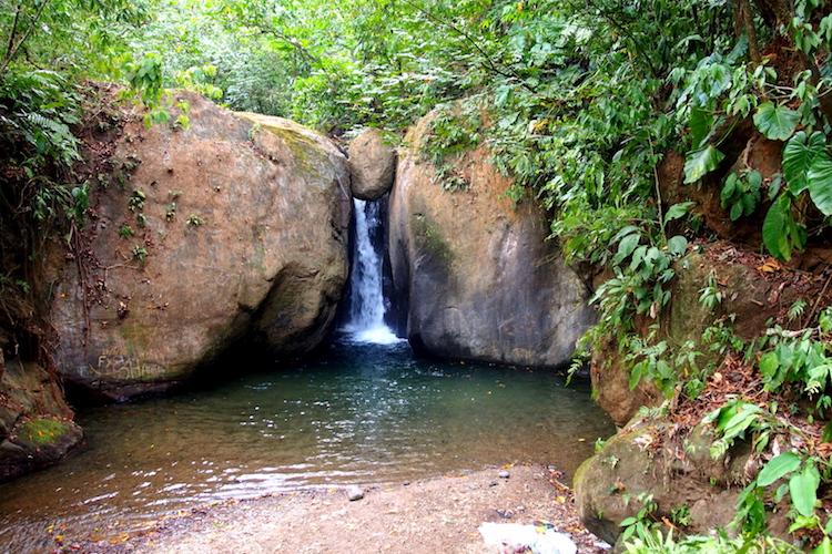 One last waterfall swim before heading to the airport. Photo: Alexia Santamaria