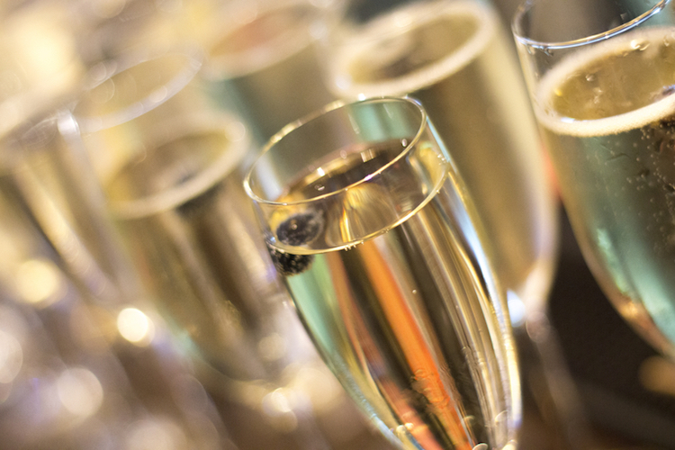 Bubbles to celebrate the start of an epic journey. Photo: iStock