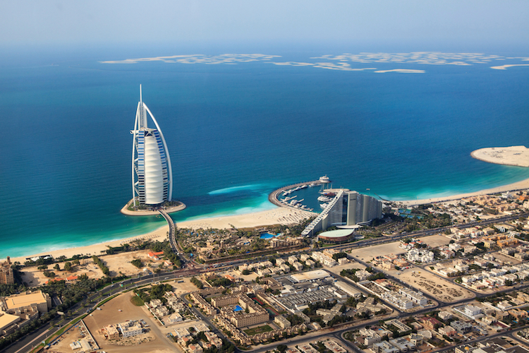 Dubai from above. Photo: iStock
