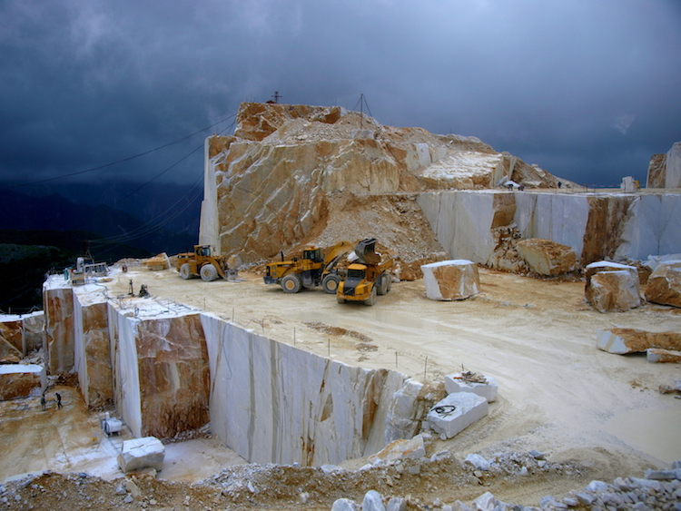 Fantiscritti quarry, Carrara. Photo: Alexia Santamaria