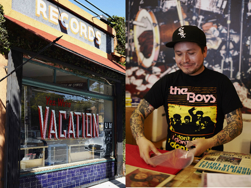 Vacation Vinyl. Photos: Rebecca Zephyr Thomas