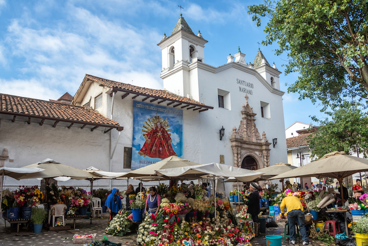 Flower sellers in Cuenca. Photo: iStock