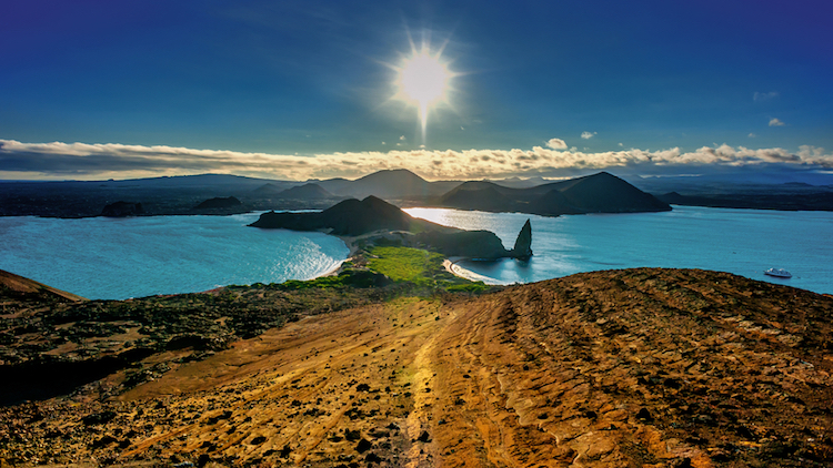 Bartolome Island, the Galapagos. Photo: iStock