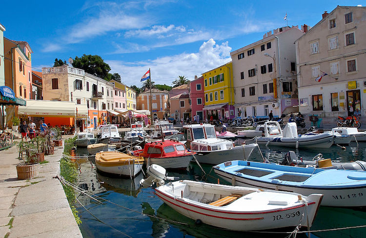 Veli Losinj on Losinj Island located in the Kvarner Gulf. | Location: Kvarner, Croatia. (Photo by philippe giraud/Corbis via Getty Images)