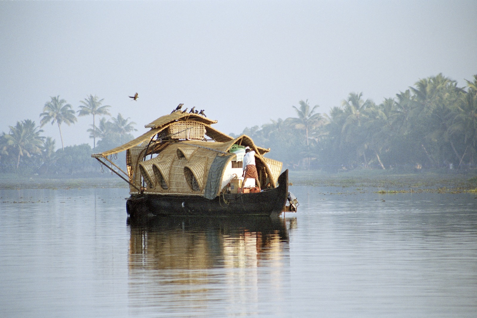 A traditional Kettuvallum fishing barge. Photo courtesy of Brett Atkinson