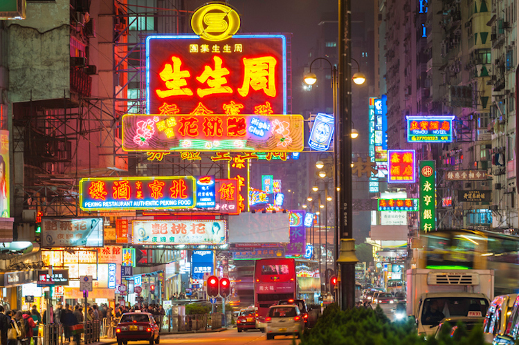Top 5 stopovers - Hong Kong