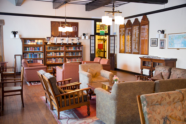 The interior of The Hill Club, Nuwara Eliya. Photo: Geography Photos / Getty Images