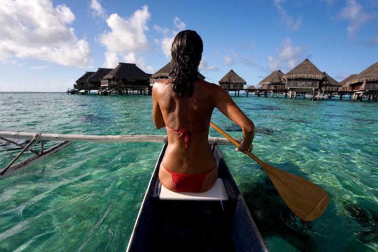 Tahiti - bungalows