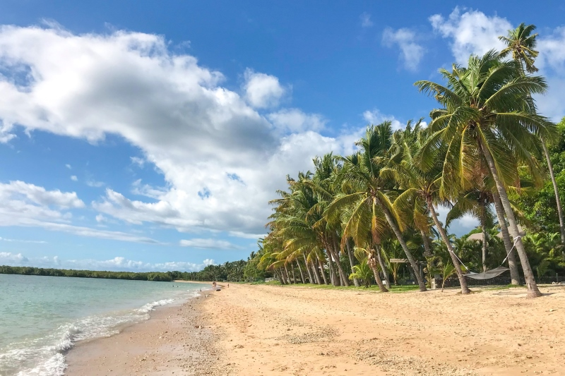Beachfront at First Landing Resort, Nadi