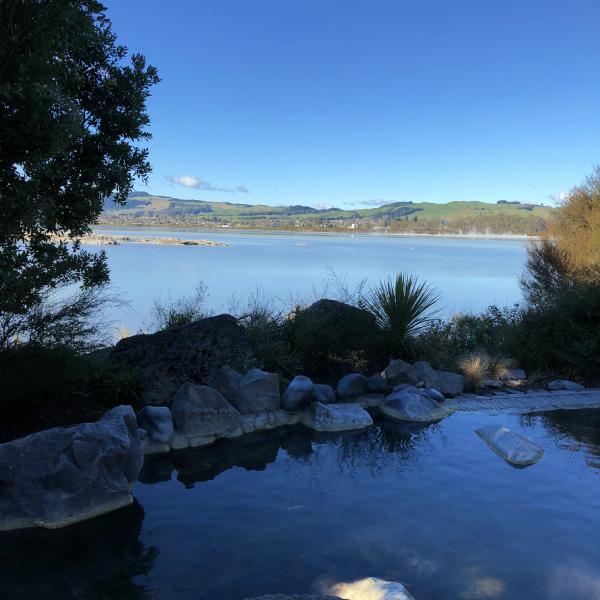 Lake Rotorua from Polynesian Spa