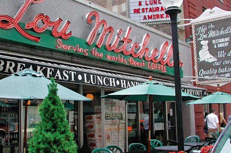 Lou Mitchell's, Chicago. (Photo: Illinois Office of Tourism)