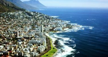 Stunning coastline of Cape Town