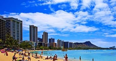 Beautiful Waikiki Beach