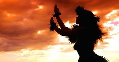 Local Maui dancer