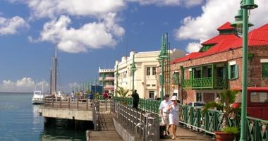 Stroll down the Bridgetown Promenade
