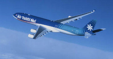 Air Tahiti Nui in the sky