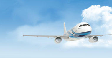 Bangkok Airways in the sky