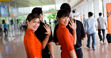 Jetstar's friendly service