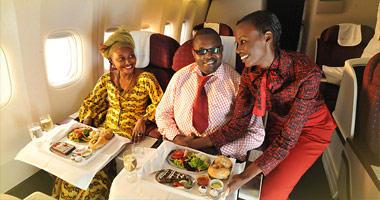 In-flight meal service