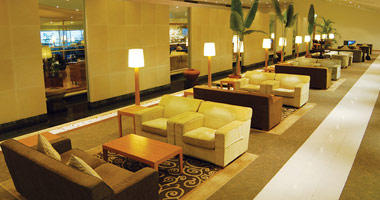 Malaysia Airlines Golden Lounge