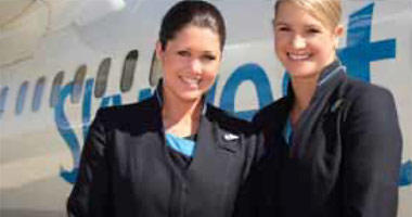 Skywest Airlines crew