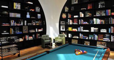 International lounge
