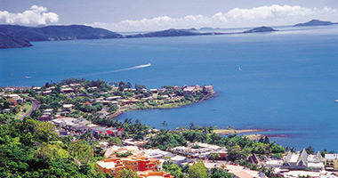 Airlie Beach from Above