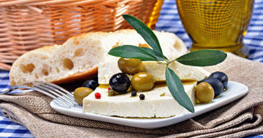 Local Cuisine - Feta & Olives