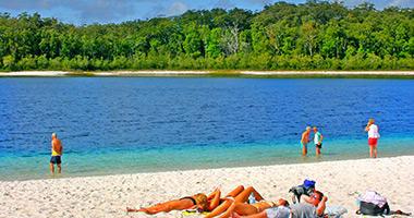 Gorgeous Lake McKenzie