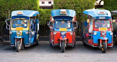 Tuk Tuk Motorised Rickshaws