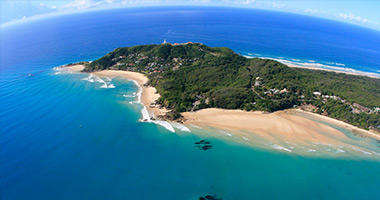 Aerial View of the Headland