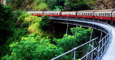 The Kuranda Scenic Railway