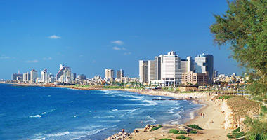 Panoramic View of Tel Aviv
