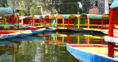 Floating Gardens, Xochimilco Canals