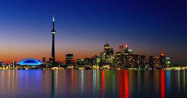Skyline with CN Tower