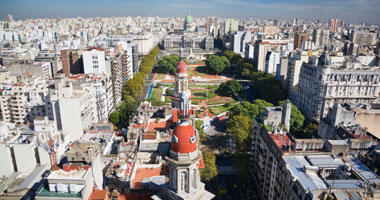 Aerial View of the City