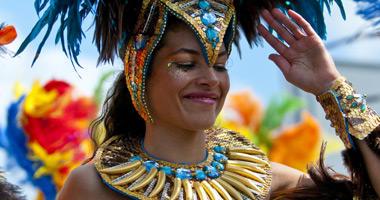 Vibrant Carnival Costume