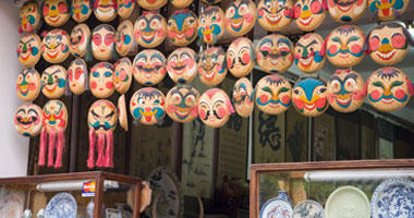 Hand-Painted Masks