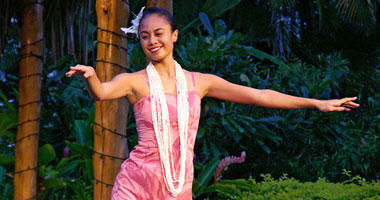 Traditional Hula Dancer
