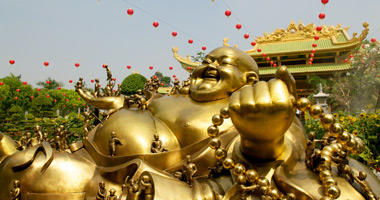 Golden Buddha, Da Nam Temple