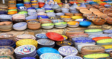 Colourful African Plates