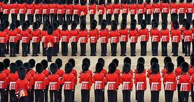Guards on Parade