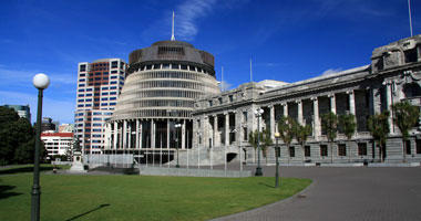 Beehive Parliament Building