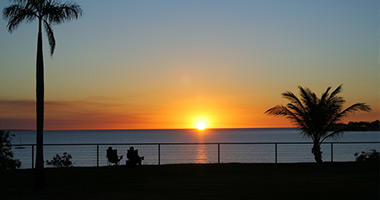 Sunset in the Top End