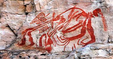 Aboriginal rock art, Kakadu